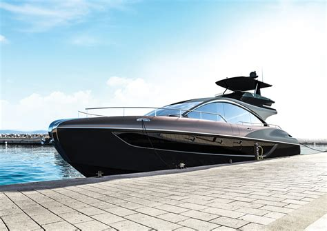 lexus boat lexus teases us with the ly 650 yacht because boats are