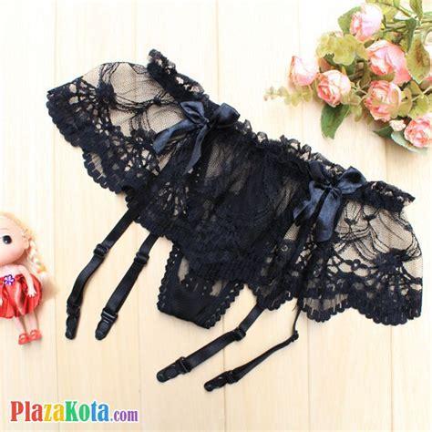 G String Hitam Renda 8201y g013 jual garter belt hitam renda plazakota