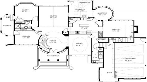 luxury house floor plans and designs luxury home floor