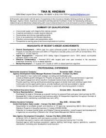 Insurance Resume Template by Insurance Resume Recentresumes