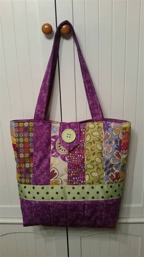 Handmade Tote Bags Patterns - the 25 best quilted tote bags ideas on