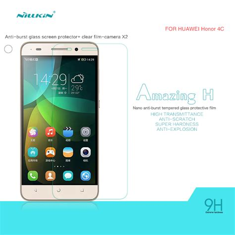 Baru Hp Huawei Honor 4c jual tempered glass nillkin huawei honor 4c amazing h