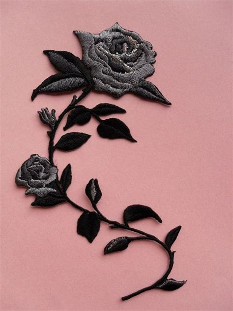 Patch Flower by Iron On Embroidered Patch Flower Accessories