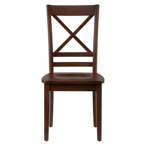 Side Chairs For Dining Room Simplicity X Back Dining Room And Kitchen Side Chair Set Of 2 452 806kd Decor South