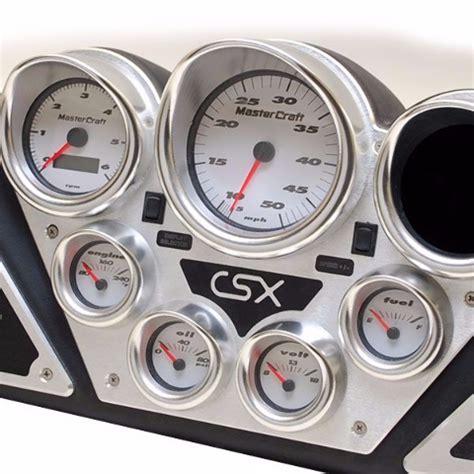 mastercraft 240 05346 c crx boat dash panel w gauges ebay - Boat Dash Gauges
