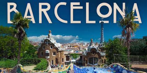 barcelona kota mau jalan jalan ke kota barcelona cukup 2 menit saja
