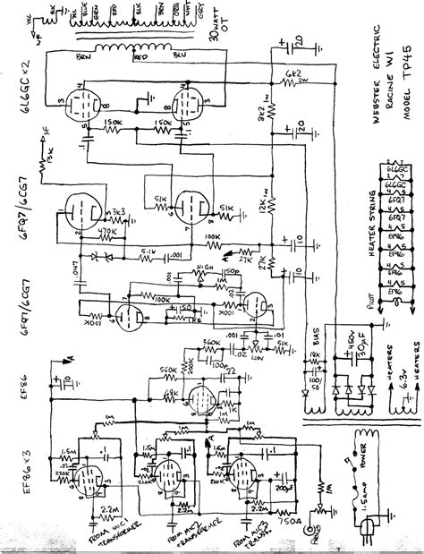 ballast resistor lm3886 webster tp45 17dbw pa lifier 2 6l6gc schematic electronic circuits schematics diagram