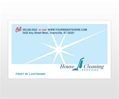 house cleaning business cards templates house cleaning business cards templates