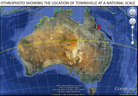 A Place Location Townsville A Sense Of Place Relative And Absolute Location Of Townsville