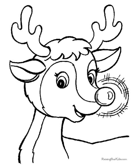 December 2015 Printable Free With Deer Picture Calendar Free Printable Coloring Pages Rudolph