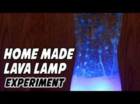 homemade lava l science project how to make a home made lava l for kids youtube