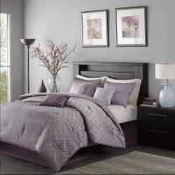purple california king comforter sets madison park mp10 921 biloxi 7 piece comforter set