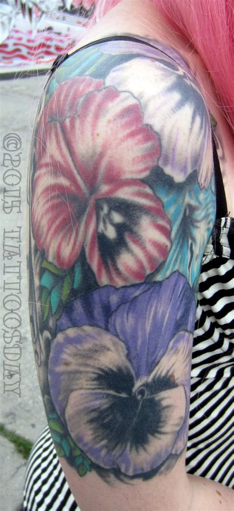 fountain of youth tattoo tattoosday a flowers for a friday leila s