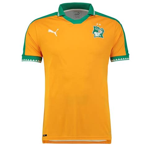 Shirts C 14 16 17 by Ivory Coast 2017 Africa Cup Home Shirt 16 17 Kits