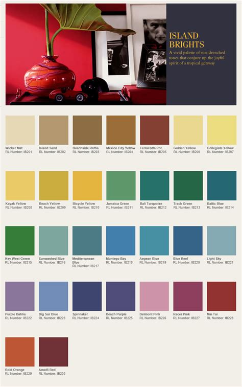 ralph lauren paint colors ralph lauren color palettes