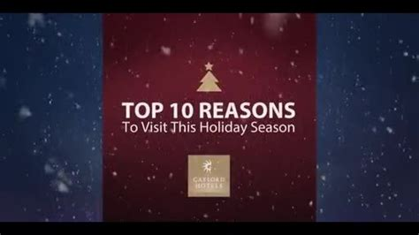 Top 10 Reasons To A This Summer by Summer Heat Rises While Gaylord Hotels Focus On
