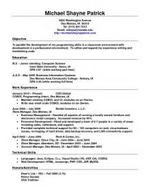 Standard Resume Template Word by Standard Resume Template Getessay Biz