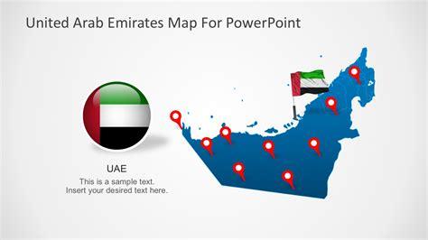powerpoint templates uae animated united arab emirates powerpoint map slidemodel