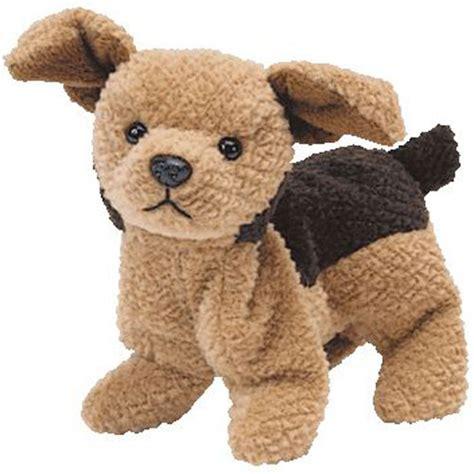 beanie baby puppy ty beanie baby tuffy the 6 5 inch bbtoystore toys plush trading cards