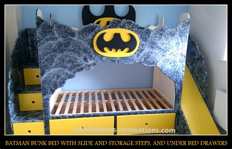 Batman Cabin Bed by Childrens Storage Beds Bespoke Childrens Beds