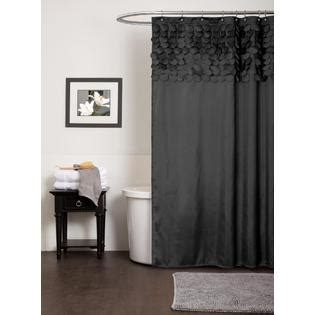 lush decor lillian shower curtain lush decor lillian black shower curtain