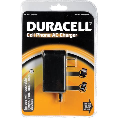 duracell cell phone charger duracell cell phone ac charger du5204 b h photo