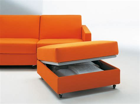 the solution for small house with convertible sofa bed