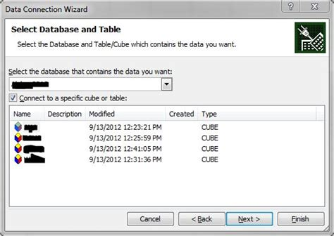 excel 2010 cube tutorial excel 2010 data connection wizard sharepoint list how to