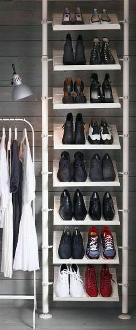 diy shoe shelves a diy shoe rack may seem interesting and chic interior design ideas avso org