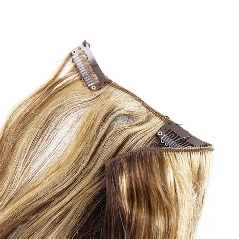 clip in hair extensions quality human hair wefts buy 6 pieces 18 quot 55g clip in 100 real remy human hair