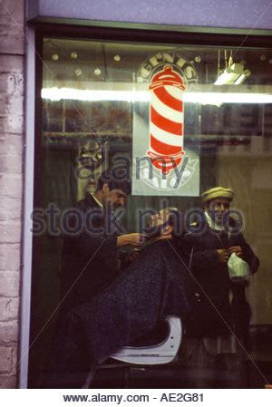 gents haircut leeds gents haircut at barbers stock photo royalty free image