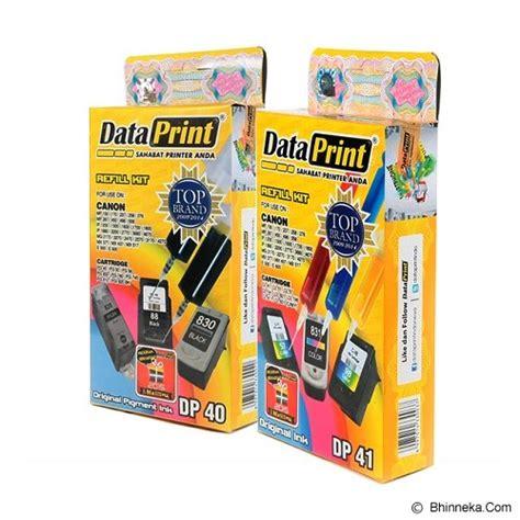 Tinta Suntik Canon Merek Dataprint Dp 40 jual dataprint tinta refill dp40 dp41 murah bhinneka