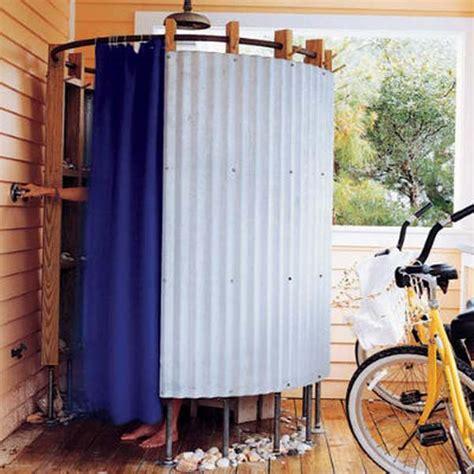 outdoor shower curtain 15 outdoor shower designs modern backyard ideas