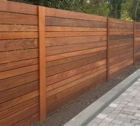 horizontal wood fence horizontal wood fence panels fence ideas
