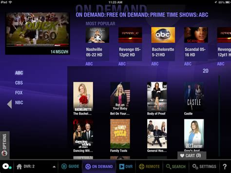 optimum tv to go app for android the optimum app optimum