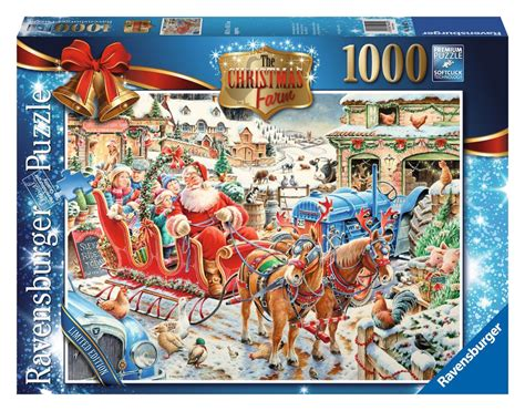 ravensburger limited edition christmas puzzles