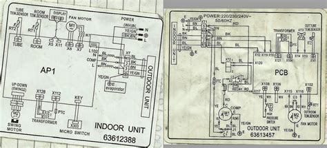 koppel split type aircon wiring diagram wiring diagram