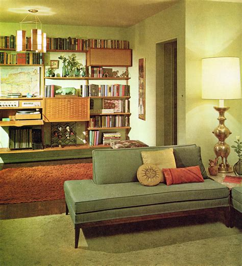 retro home interiors 1960s living room another one of those amazing shelving units i d kill to one i