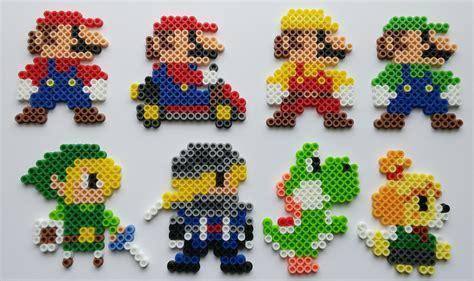 bead art pattern maker super mario maker costumes perler beads by kamikazekeeg on