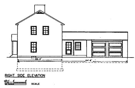 view home plans side view house plans home deco plans