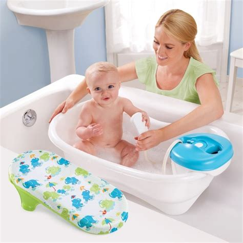 newborn baby bathtub summer infant 174 newborn to toddler bath center shower