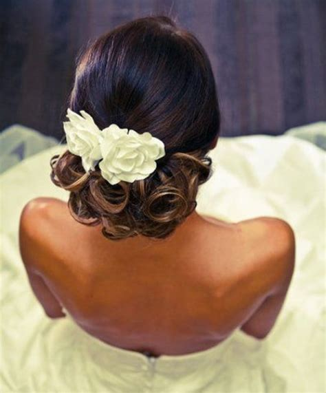 Wedding Hairstyles For Low Back Dresses by 20 Gorgeous Black Wedding Hairstyles