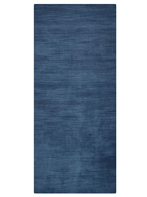 solid navy blue area rug buy solid lori knotted woolen navy blue area rug l00111 getmyrugs