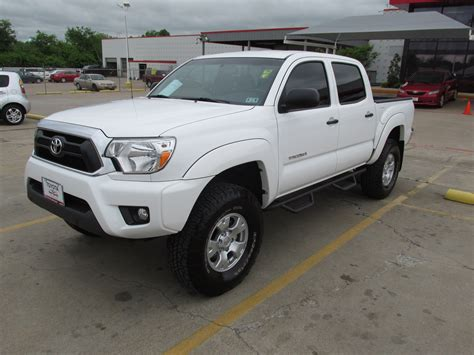 Fort Toyota Toyota Tacoma White Fort Worth Mitula Cars