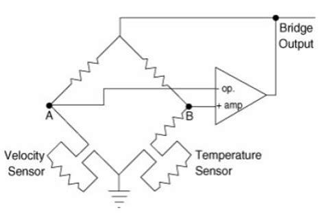wheatstone bridge wire anemometer principles and features of constant temperature anemometers and calorimeter flow sensors