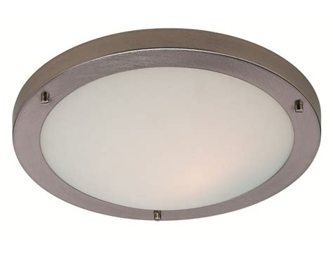 Chrome Chandeliers Clearance 8611bs Ip44 11w Rondo Led Flush Bathroom Light In