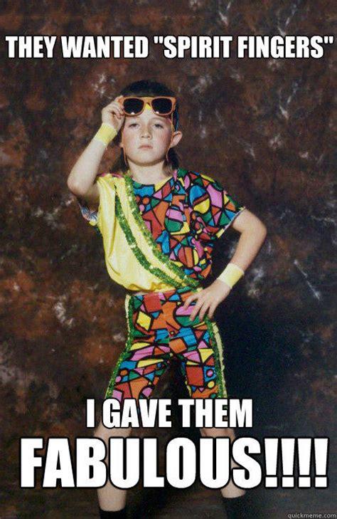 Spirit Fingers Meme - 80s retro hipster kid memes quickmeme