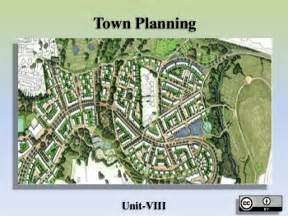 Town Planning town planning
