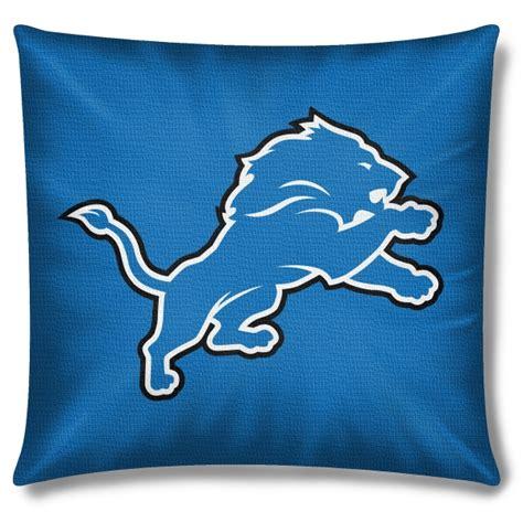 detroit lions bedding detroit lions nfl 18 quot toss pillow