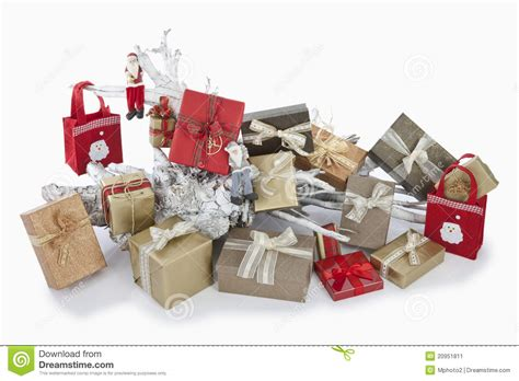 christmas parcels stock image image 20951811